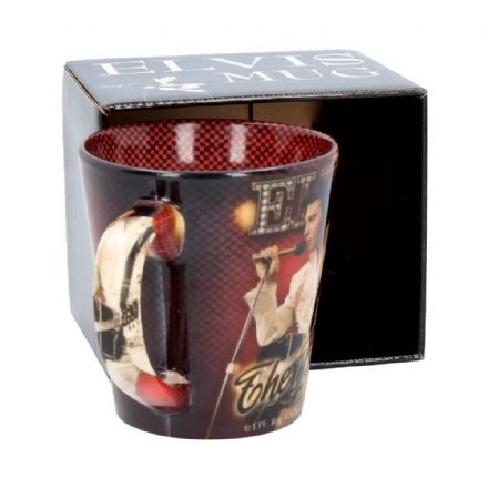 "Elvis Presley  ""The King"" Ceramic Mug"